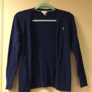 U.S. polo association sweater cardigan